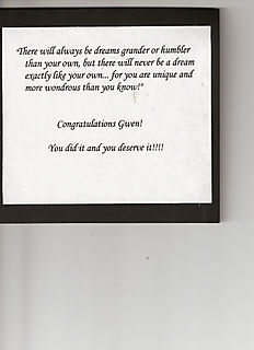 Graduation card inside quote 1