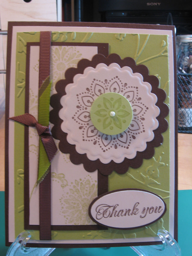 Lindas Thank you card