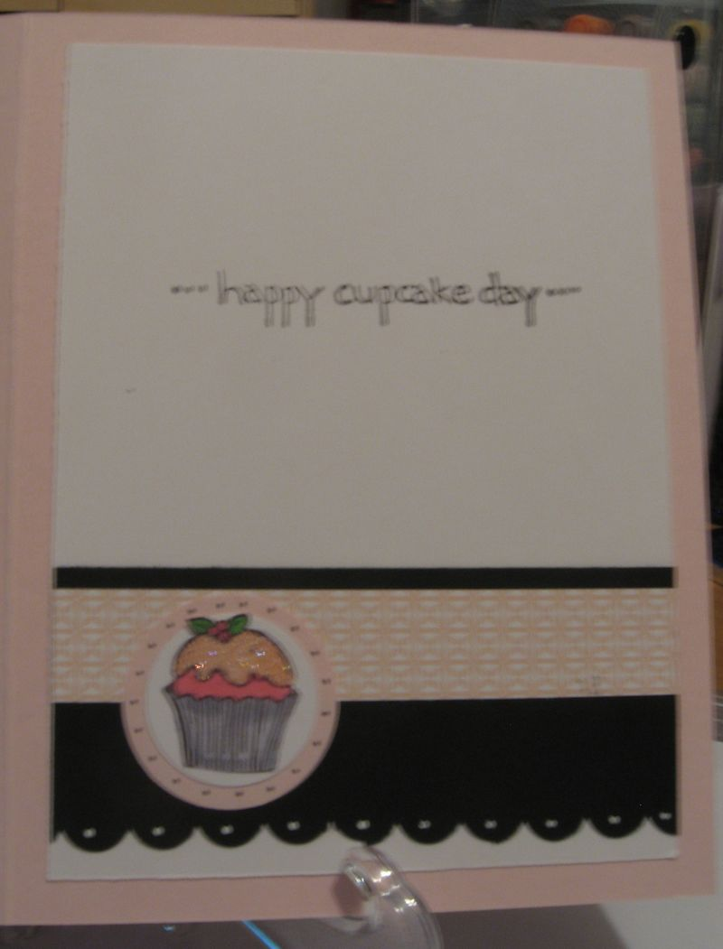 Cupcake Birthday Case Inside