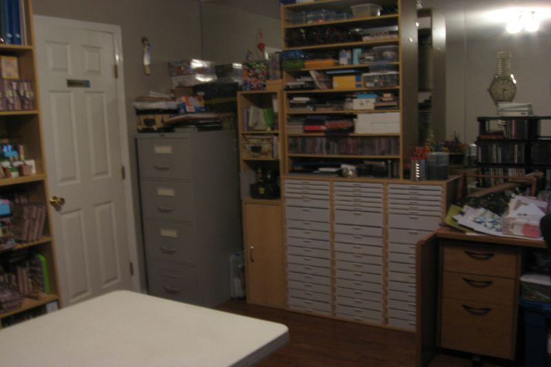 Craft room in new house