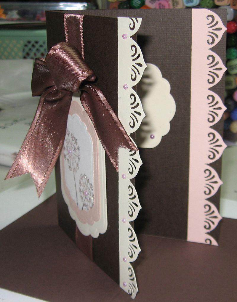 Dandelion card inside