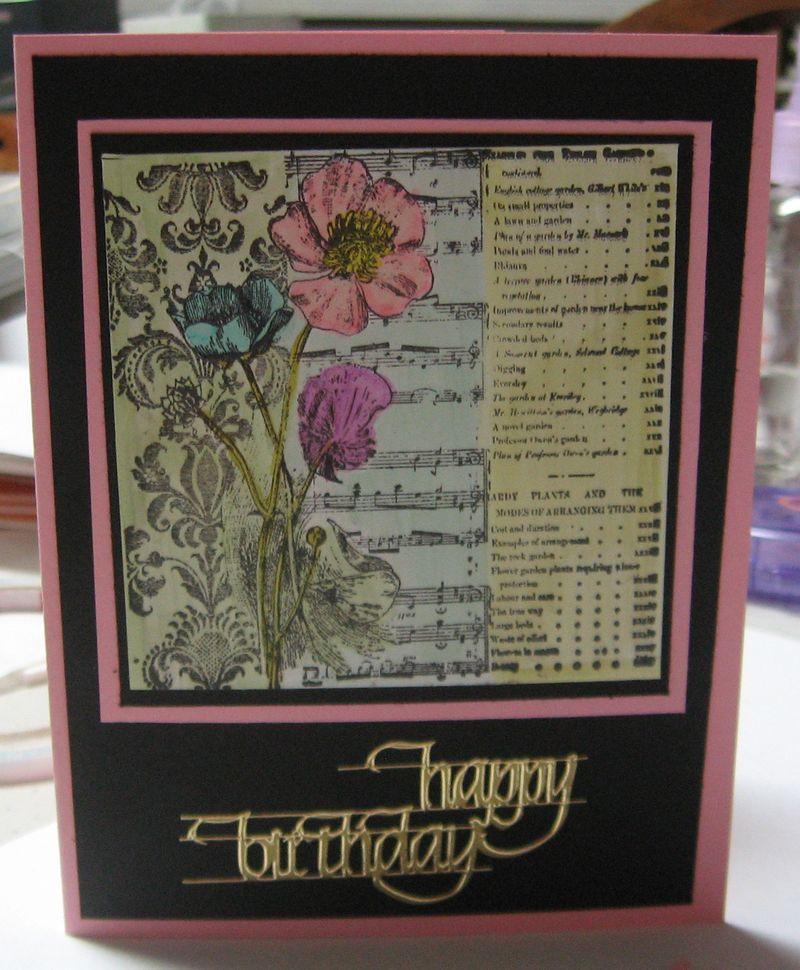 Heathers Birthday card 50