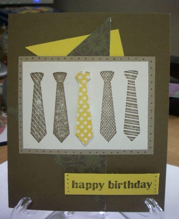 heidi kimmerly manly birthday card, Birthday card