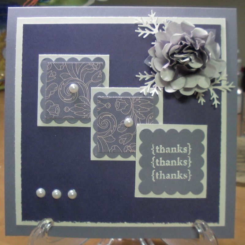 A Wisteria Wonder card