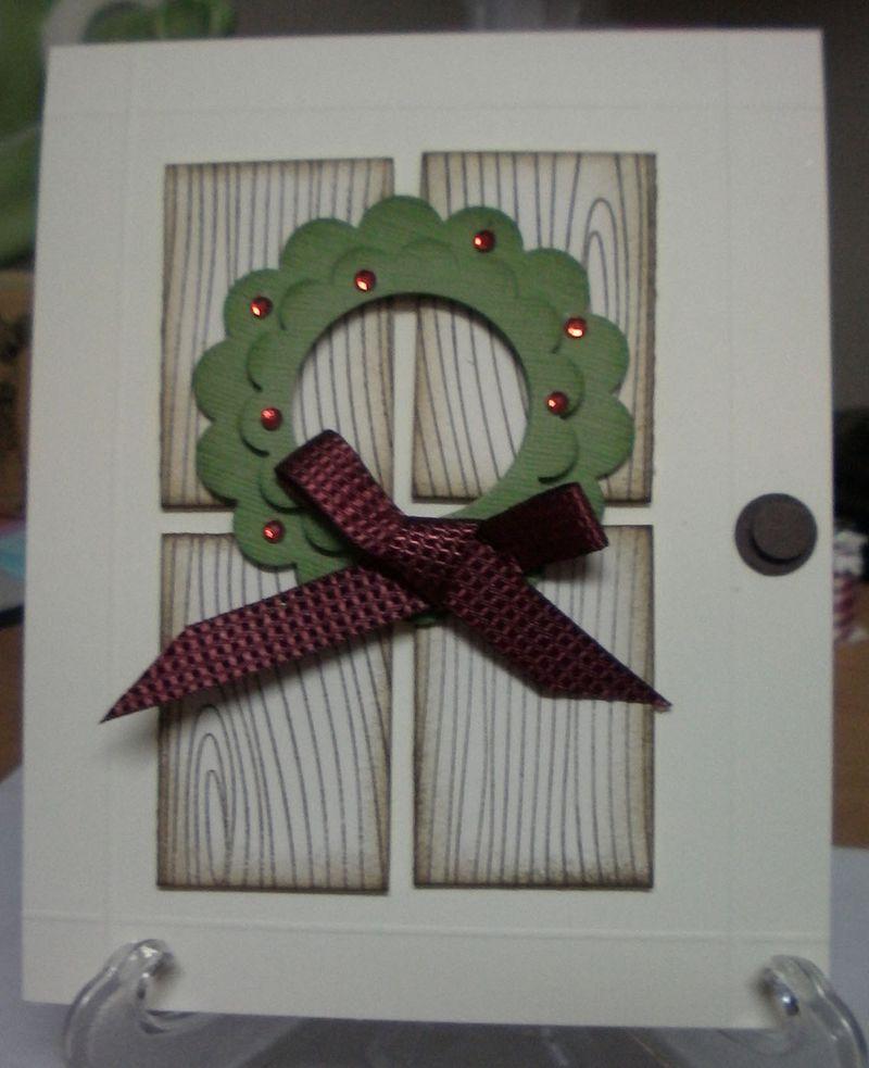 Xmas door wreath