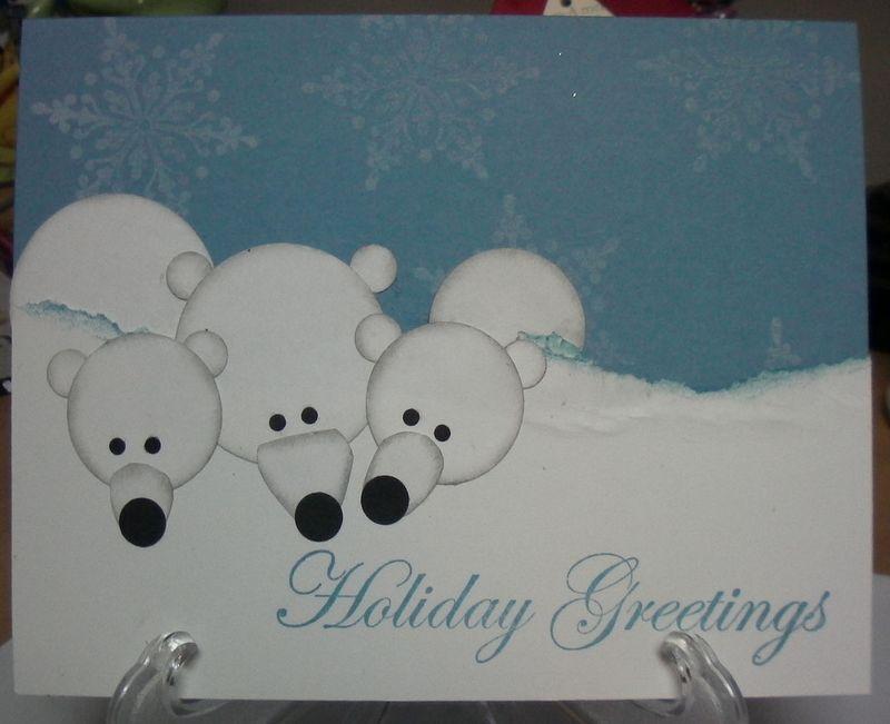 Xmas polar bears