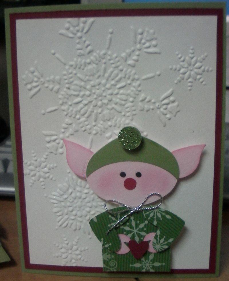 Christmas elf cased