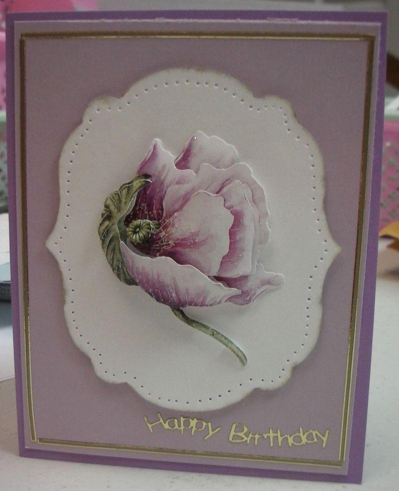 Paper Tole 1 card